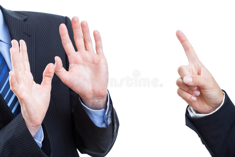 De verklaring van de werknemer royalty-vrije stock afbeeldingen