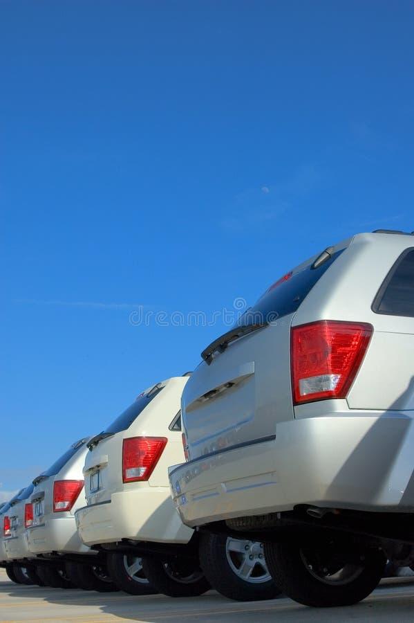 De Verkoop van de auto royalty-vrije stock fotografie