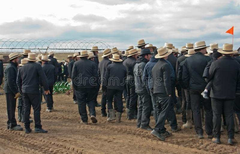 De Verkoop van de Modder van Amish royalty-vrije stock foto