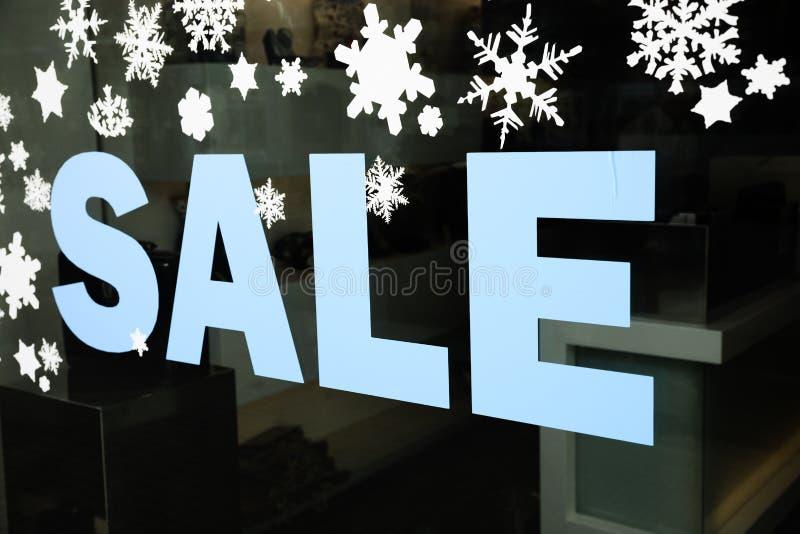 De verkoop van het seizoen stock foto