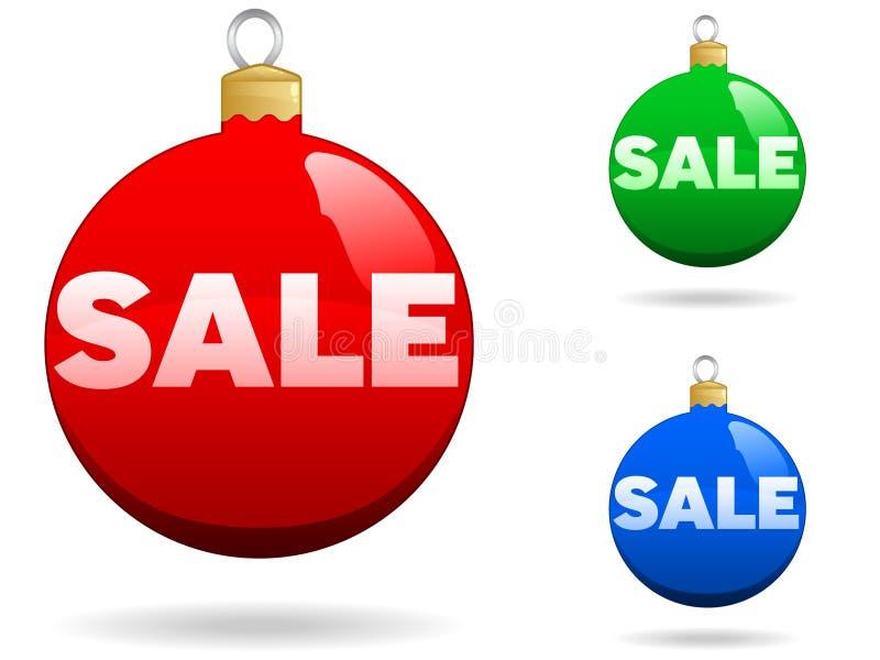 De Verkoop van Kerstmis stock illustratie