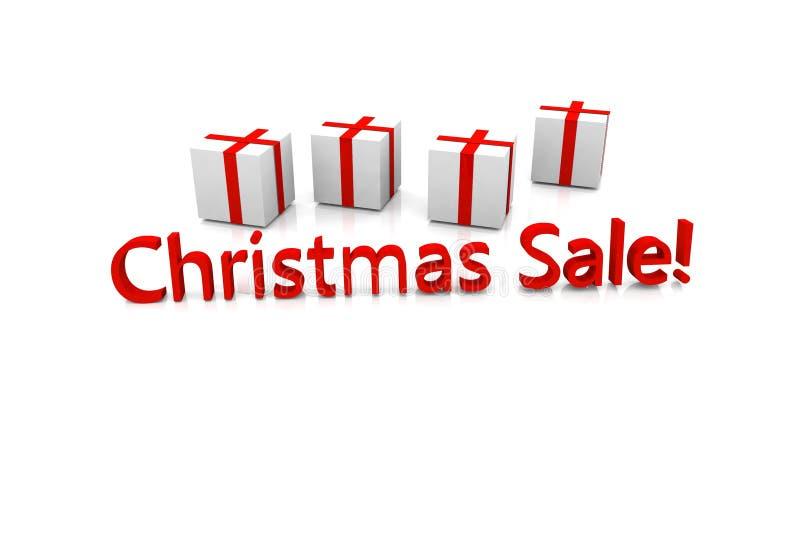De verkoop van Kerstmis stock foto