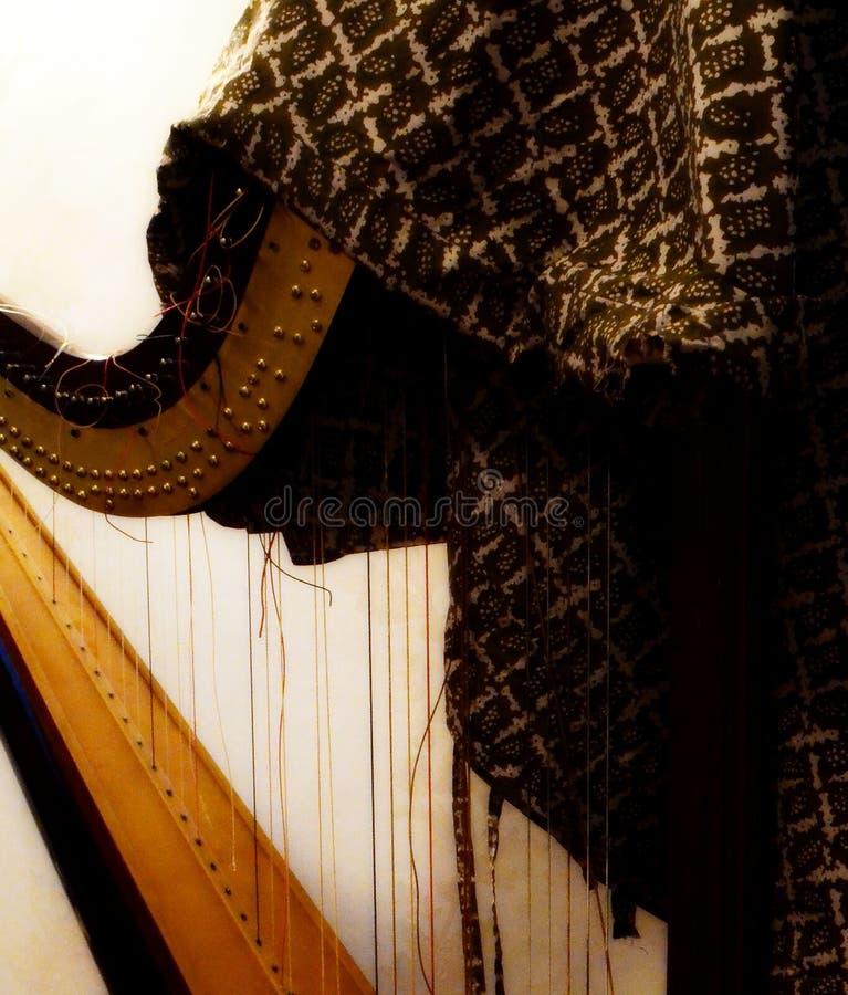 De verlaten harp royalty-vrije stock foto's