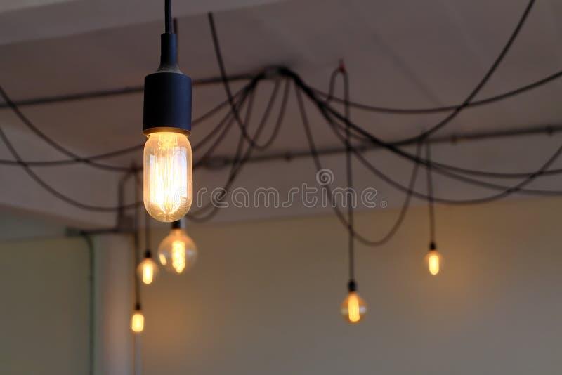De verlichting van de huisdecoratie royalty-vrije stock afbeelding