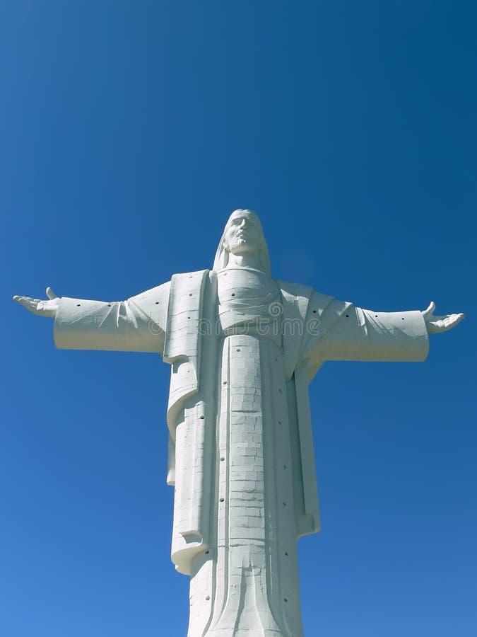 De Verlosser Christus van Cochabamba royalty-vrije stock fotografie