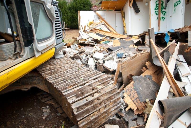 De Vernietiging/de Apparatuur van het huis royalty-vrije stock foto