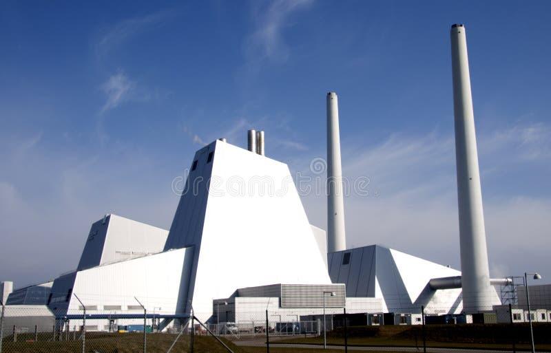 De verontreiniging van de elektrische centrale royalty-vrije stock afbeelding