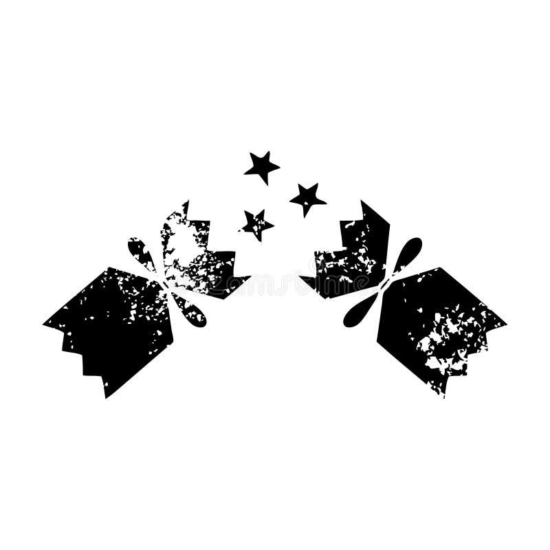 de verontruste cracker van symboolkerstmis royalty-vrije illustratie