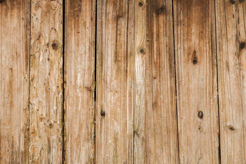 De verontruste Oude Houten Achtergrond van de Plankraad royalty-vrije stock foto's