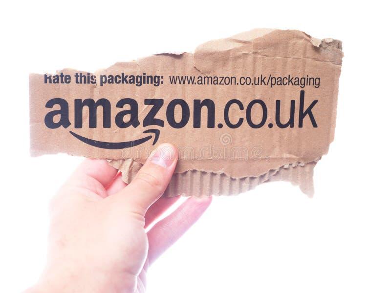 De verpakking van Amazonië stock foto's