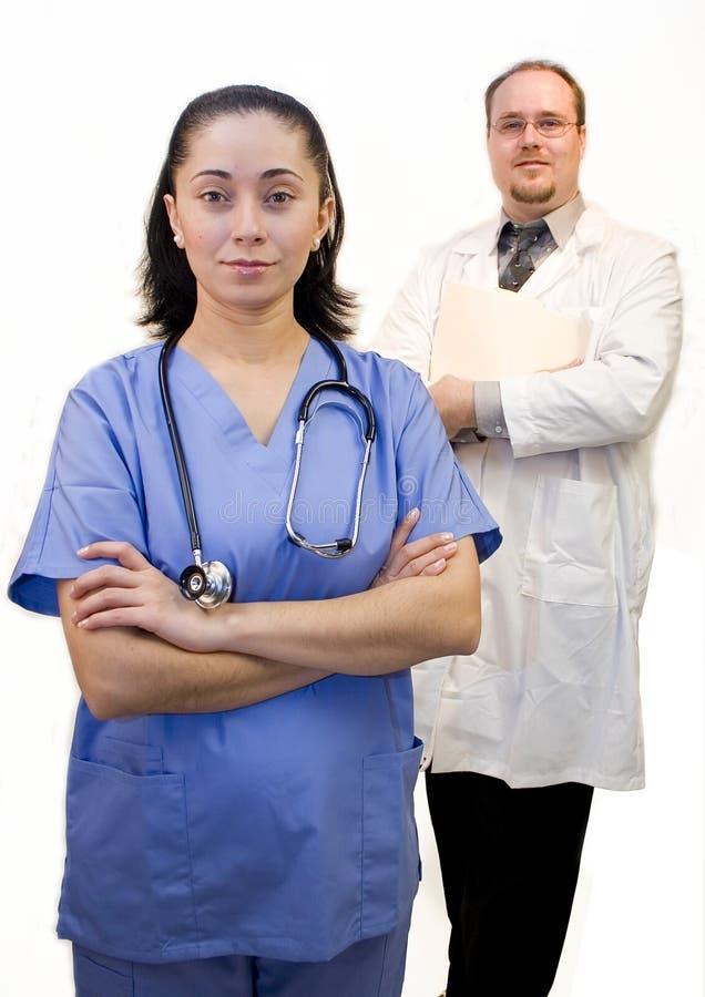 De verpleegster van de arts royalty-vrije stock afbeelding