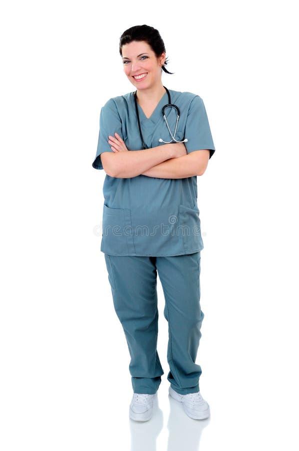 De Verpleegster van het ziekenhuis royalty-vrije stock foto's