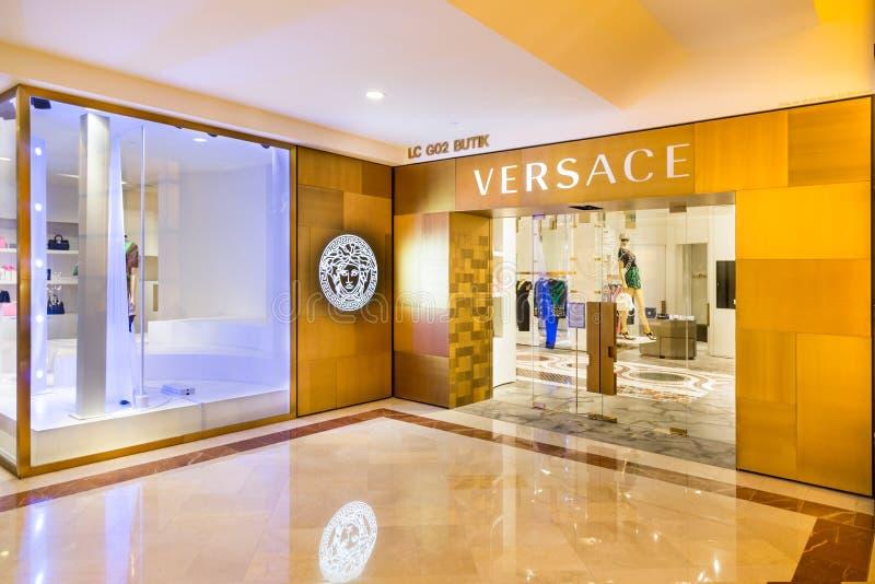 De Versace-afzet in KLCC Kuala Lumpur royalty-vrije stock foto