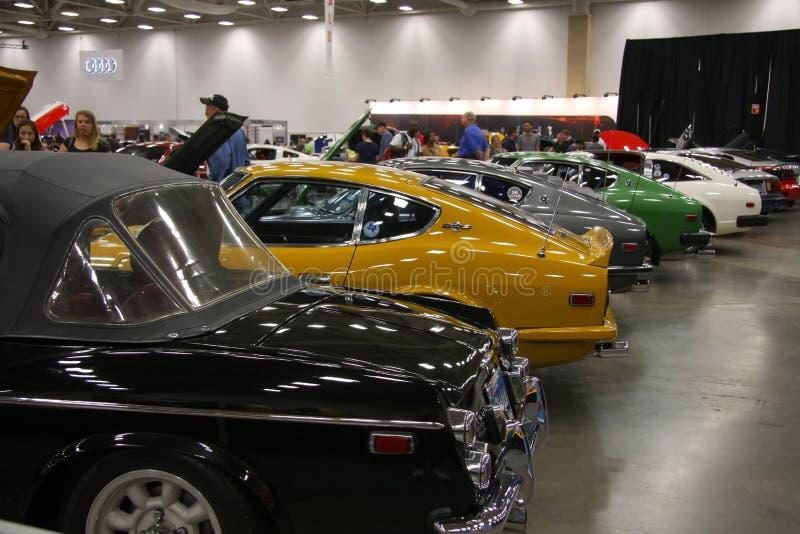 Dallas auto toont stock afbeelding