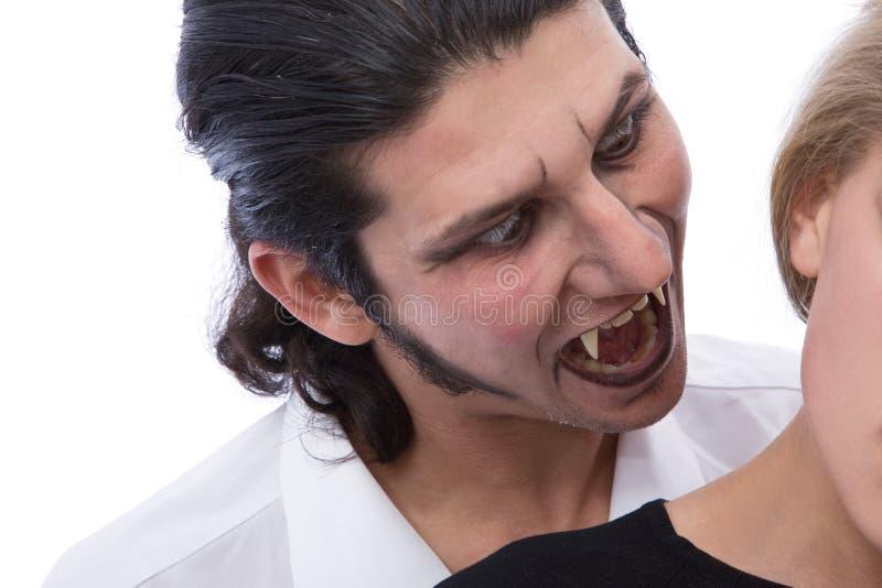 De verschrikking van de vampier royalty-vrije stock afbeelding