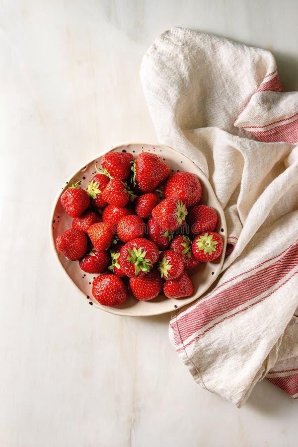 De verse Aardbeien van de Tuin royalty-vrije stock fotografie
