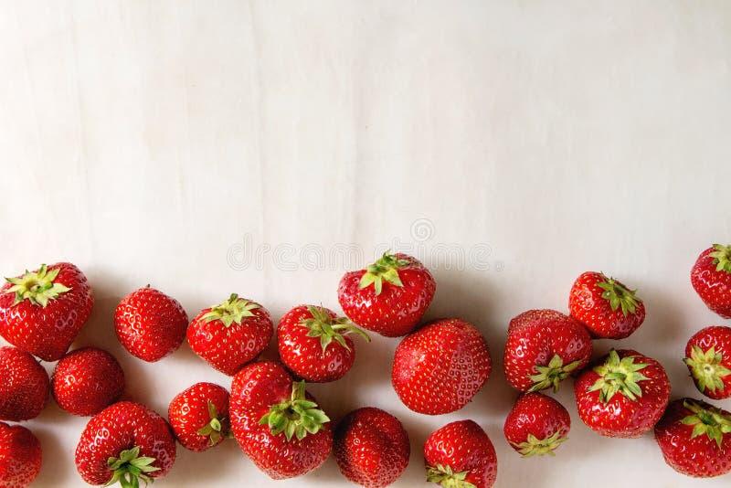 De verse Aardbeien van de Tuin royalty-vrije stock foto's