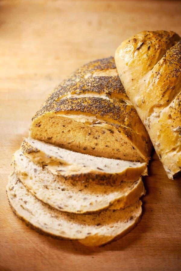 De verse Plak van het Brood royalty-vrije stock foto