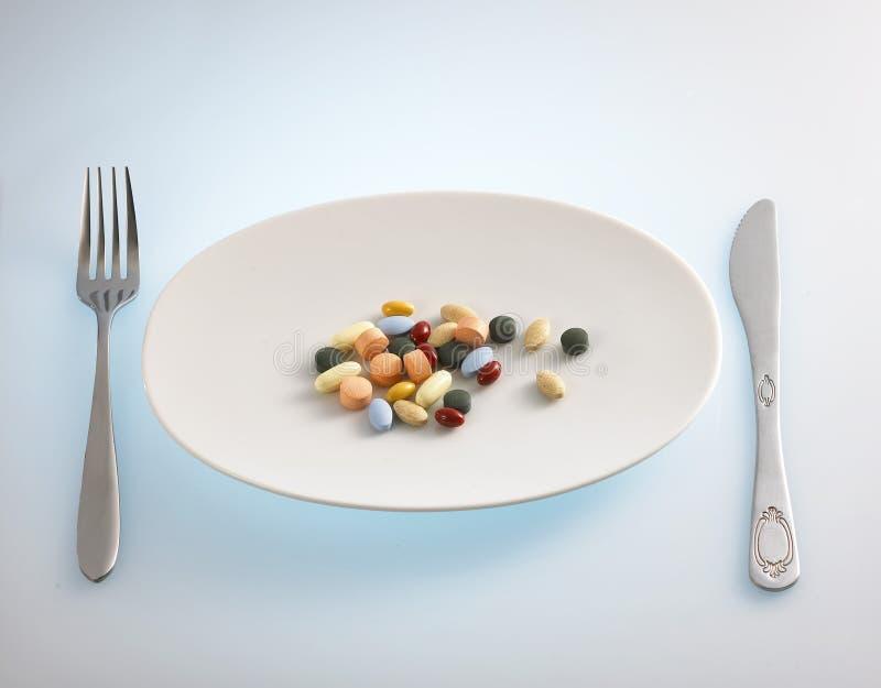 De verslaving van de drug stock foto