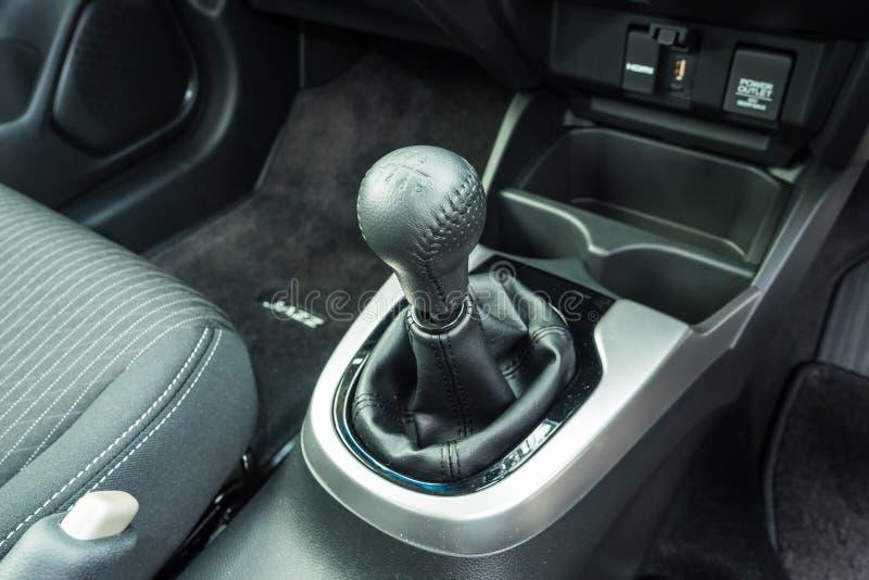 De Versnellingsbak van MT 2018 van Honda Jazz RS stock foto