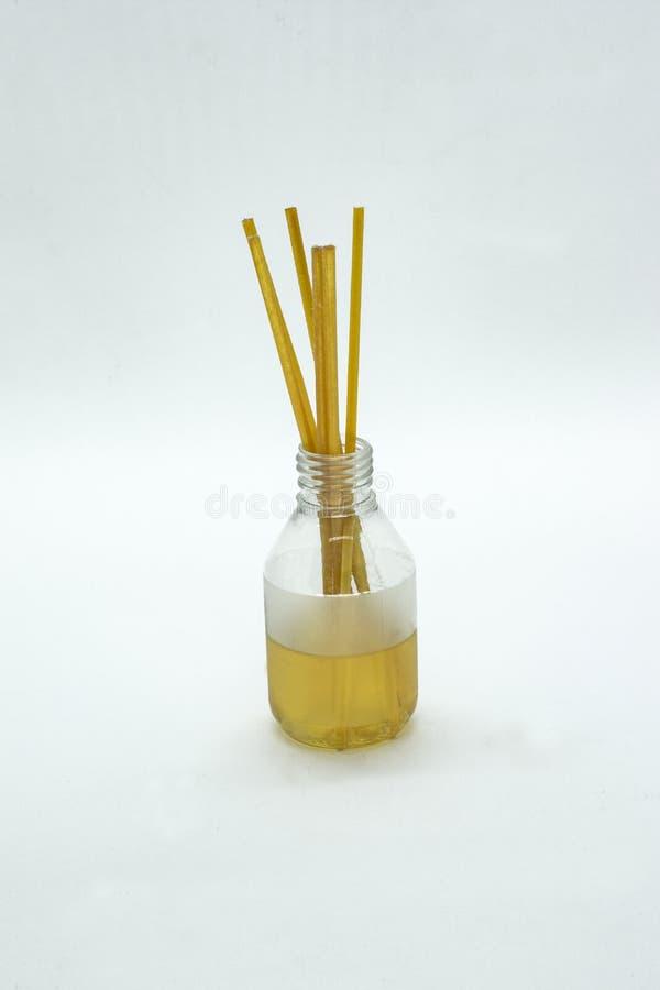 De verspreider van de Aromatherapyfles stock foto's