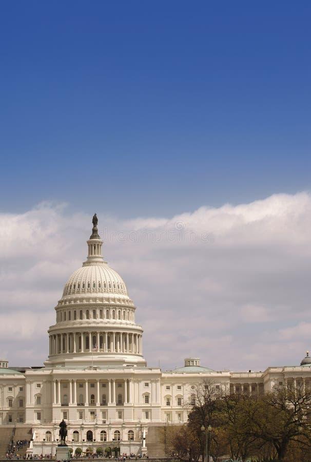 De Verticaal van het Capitool van Verenigde Staten royalty-vrije stock afbeeldingen