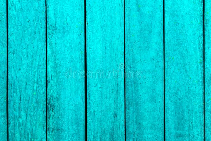 De verticale Turkooise Houten Achtergrond van de Barstextuur stock fotografie