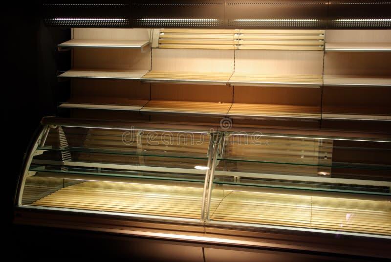 De vertoning van de bakkerij stock fotografie