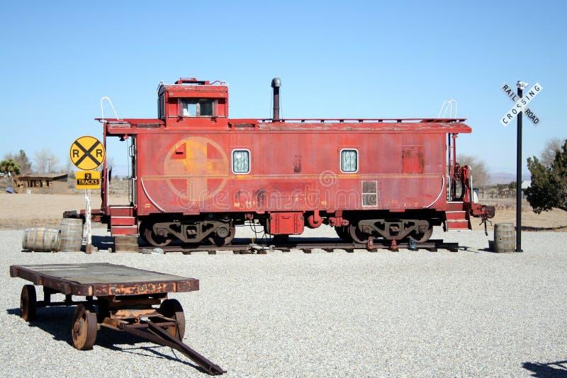 De vertoning van de spoorweg royalty-vrije stock afbeelding