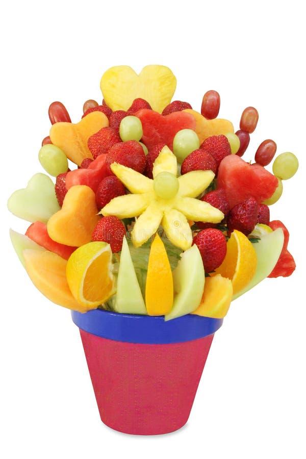 De Vertoning van het fruit royalty-vrije stock afbeeldingen