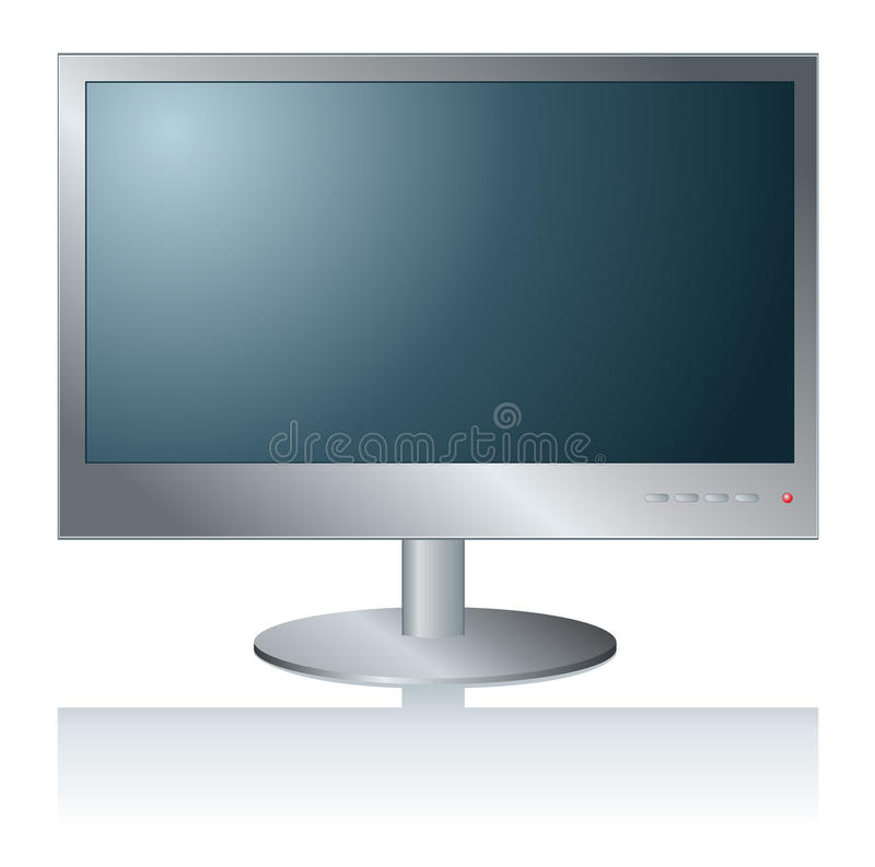 PC Monitor.Computer vector illustratie