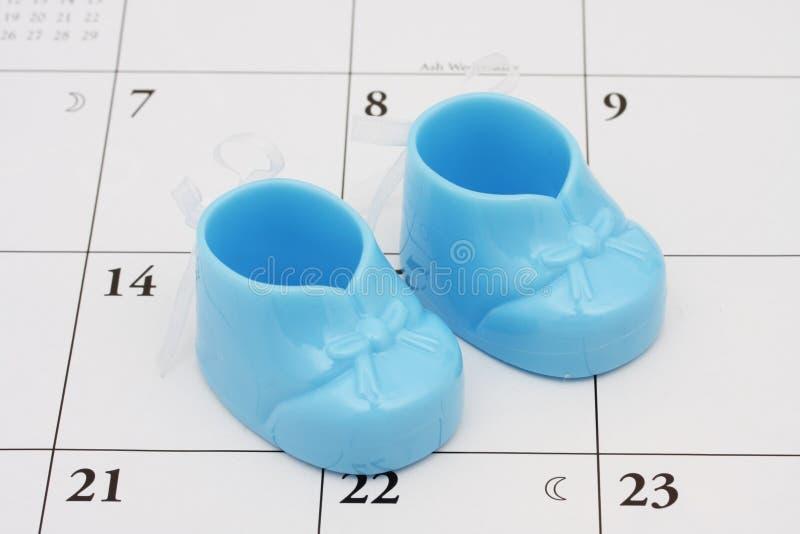 De vervaldatum van de baby s stock fotografie
