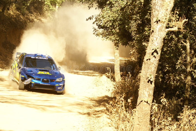 De Verzameling Mexico van de Corona WRC royalty-vrije stock foto