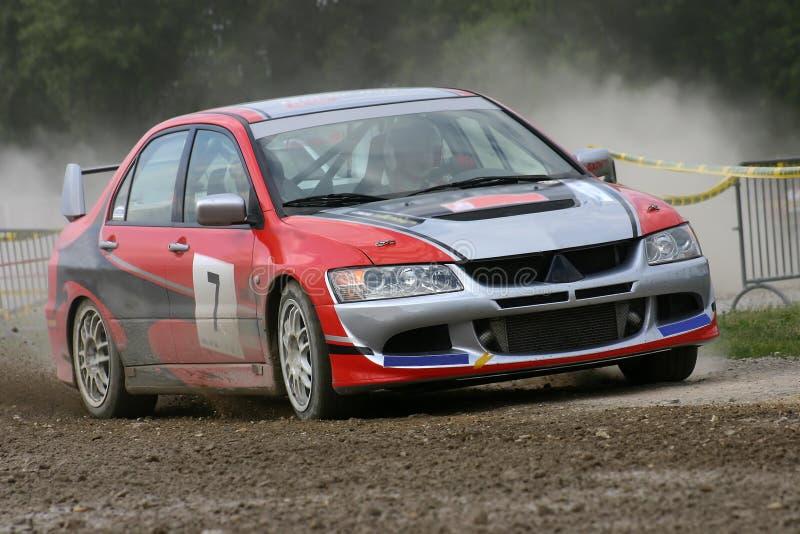 De verzamelingsauto van Mitsubishi stock afbeelding