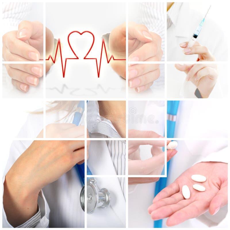 De verzekering van de gezondheid. royalty-vrije stock afbeelding