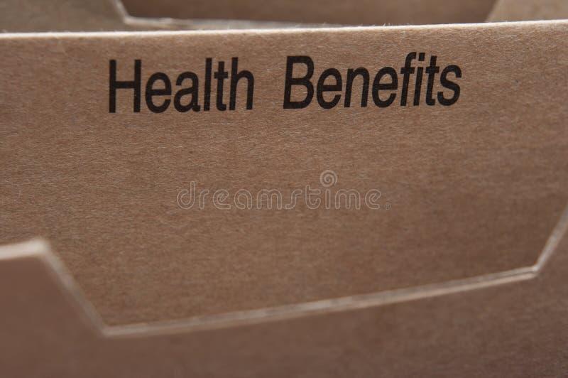 De verzekering van de gezondheid stock foto
