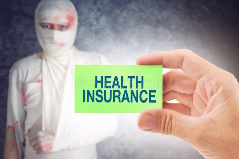 De verzekering van de gezondheid royalty-vrije stock fotografie