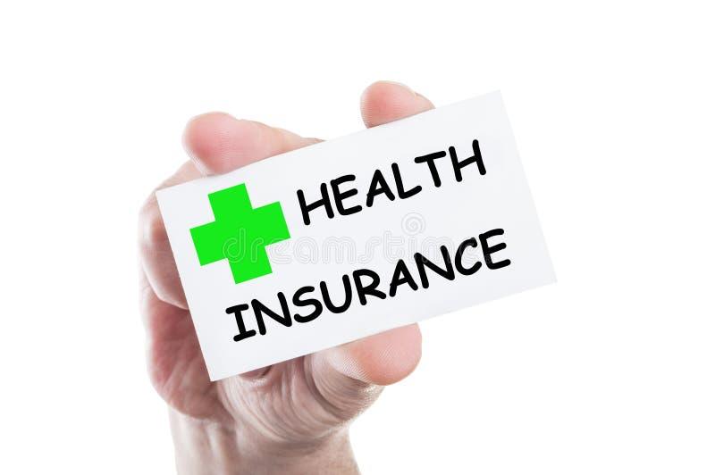 De verzekering van de gezondheid royalty-vrije stock afbeeldingen