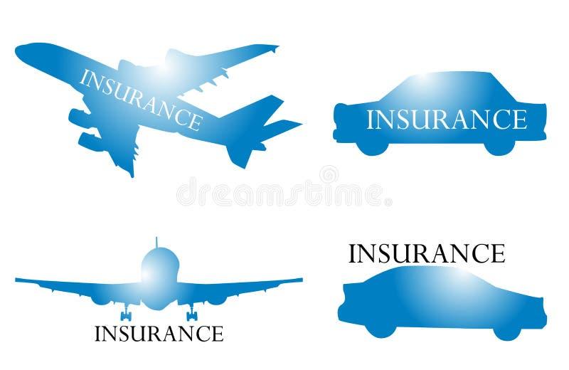 De verzekering van de reis vector illustratie