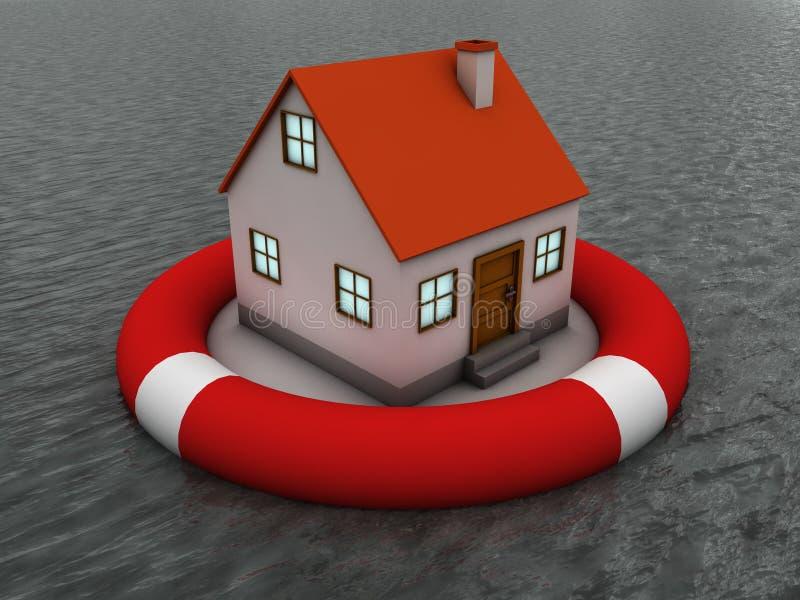 De verzekering van het bezit stock illustratie