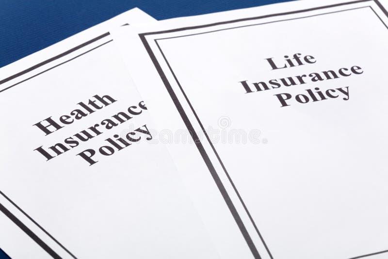 De Verzekering van het leven en van de Gezondheid royalty-vrije stock fotografie