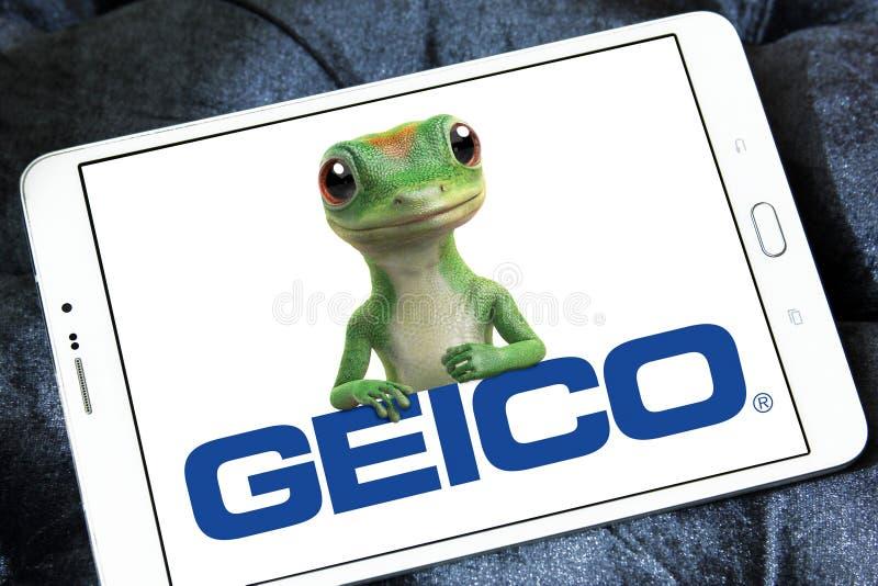 De Verzekeringsmaatschappijembleem van GEICO royalty-vrije stock foto