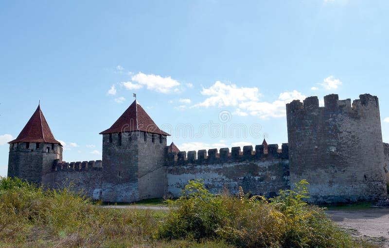 De vesting bij Buigmachine, Transnistria stock foto's