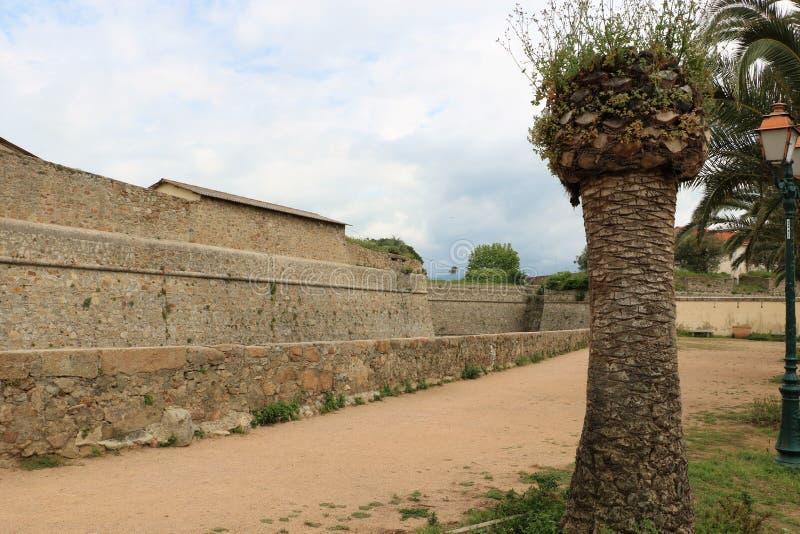 De vesting van Ajaccio royalty-vrije stock afbeeldingen