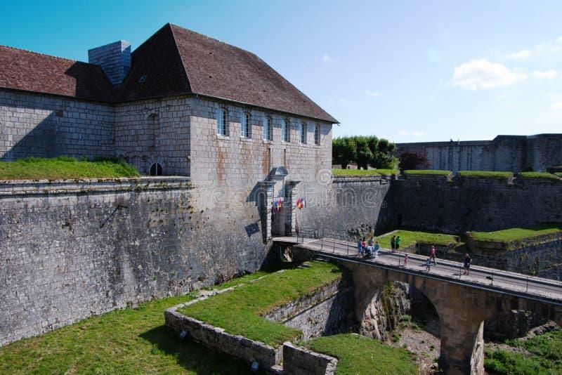 De Vesting van Besançon stock foto's