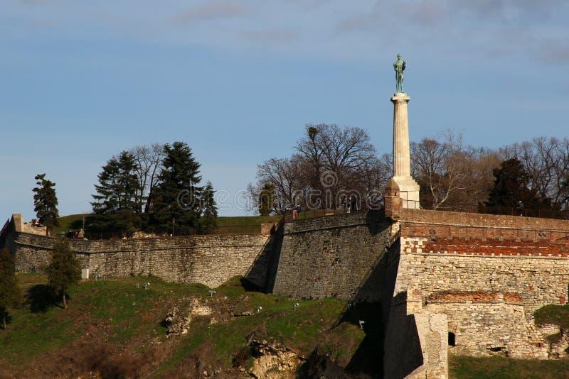 Download De Vesting Van Kalemegdan In Belgrado Stock Afbeelding - Afbeelding bestaande uit europa, historisch: 29503541