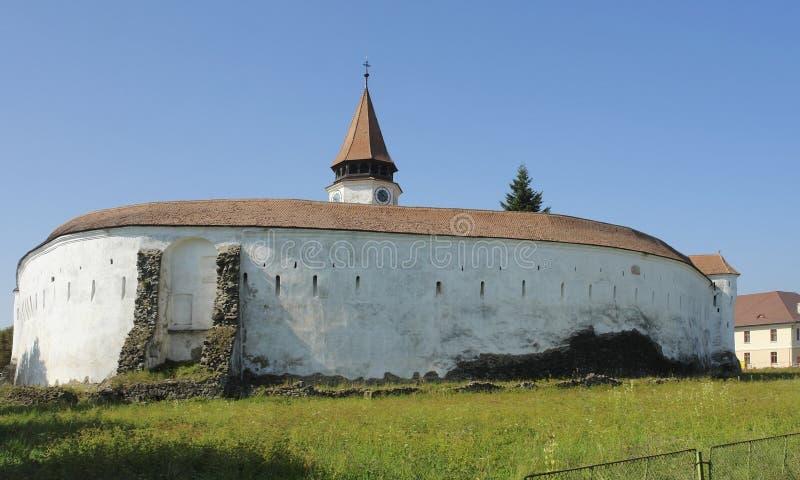 De Vesting van Prejmer in Roemenië stock foto's