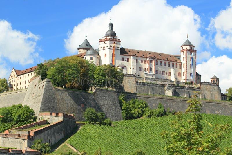 De vesting van Wurzburg royalty-vrije stock fotografie