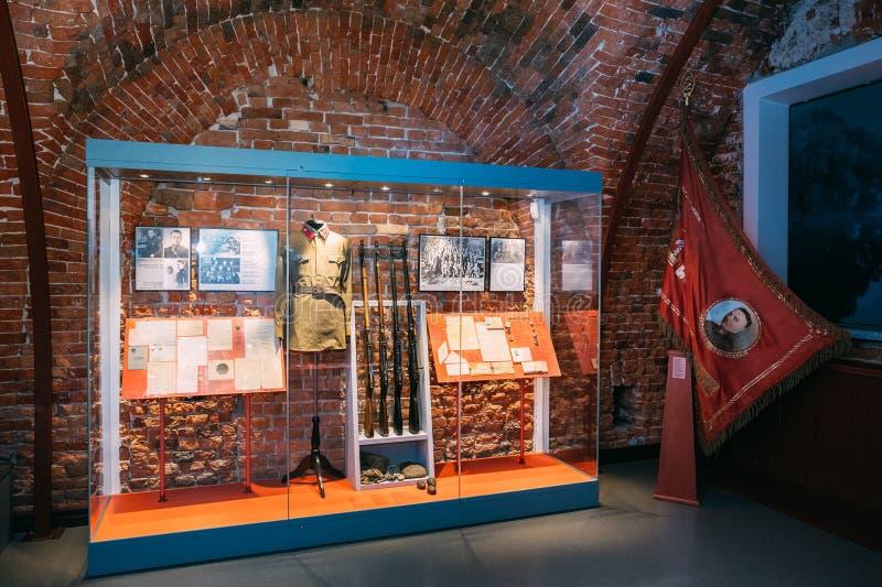 De Vestingsmuseum van Brest in Brest, Wit-Rusland royalty-vrije stock foto