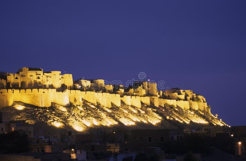 De vestingwerken van Jaisalmer royalty-vrije stock afbeelding